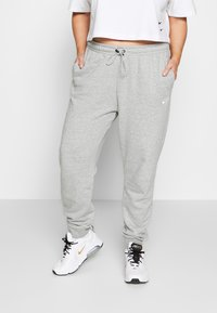 Nike Sportswear - PANT - Tracksuit bottoms - grey heather/white - 0