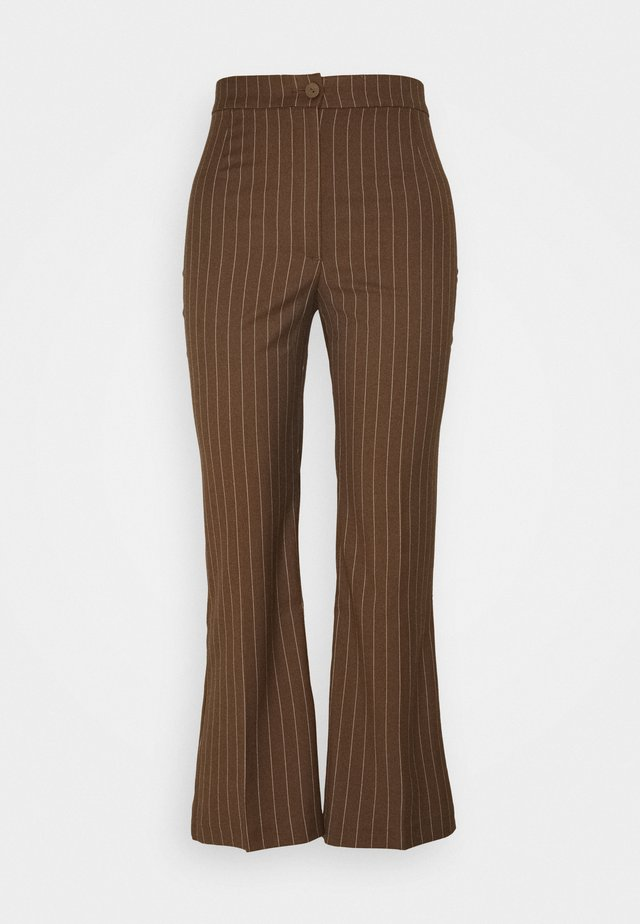 WENDY TROUSERS - Bukse - brown