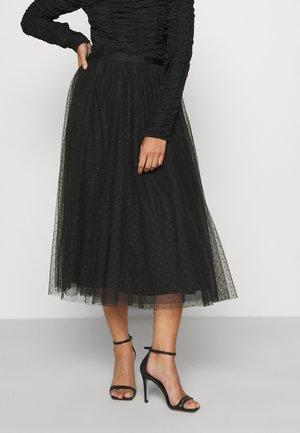 KISSES BALLERINA SKIRT - A-line skirt - ballet black