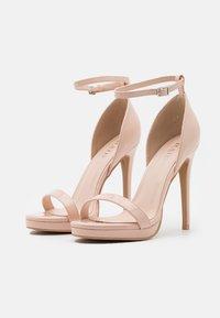 RAID Wide Fit - WIDE FIT CRESSIDA - Platform sandals - nude - 2
