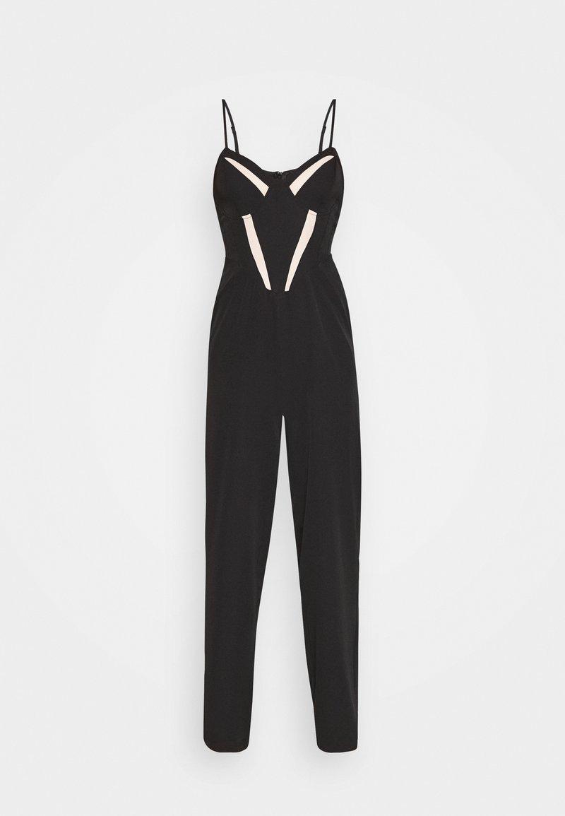 Missguided Petite - INSERT JUMPSUIT PETITE - Jumpsuit - black