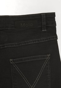 Molo - BELINDA - A-line skirt - black denim - 2
