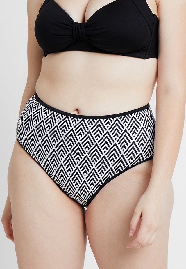 GATSBY HIGH WAIST BRIEF - Bikini-Hose - monochrome