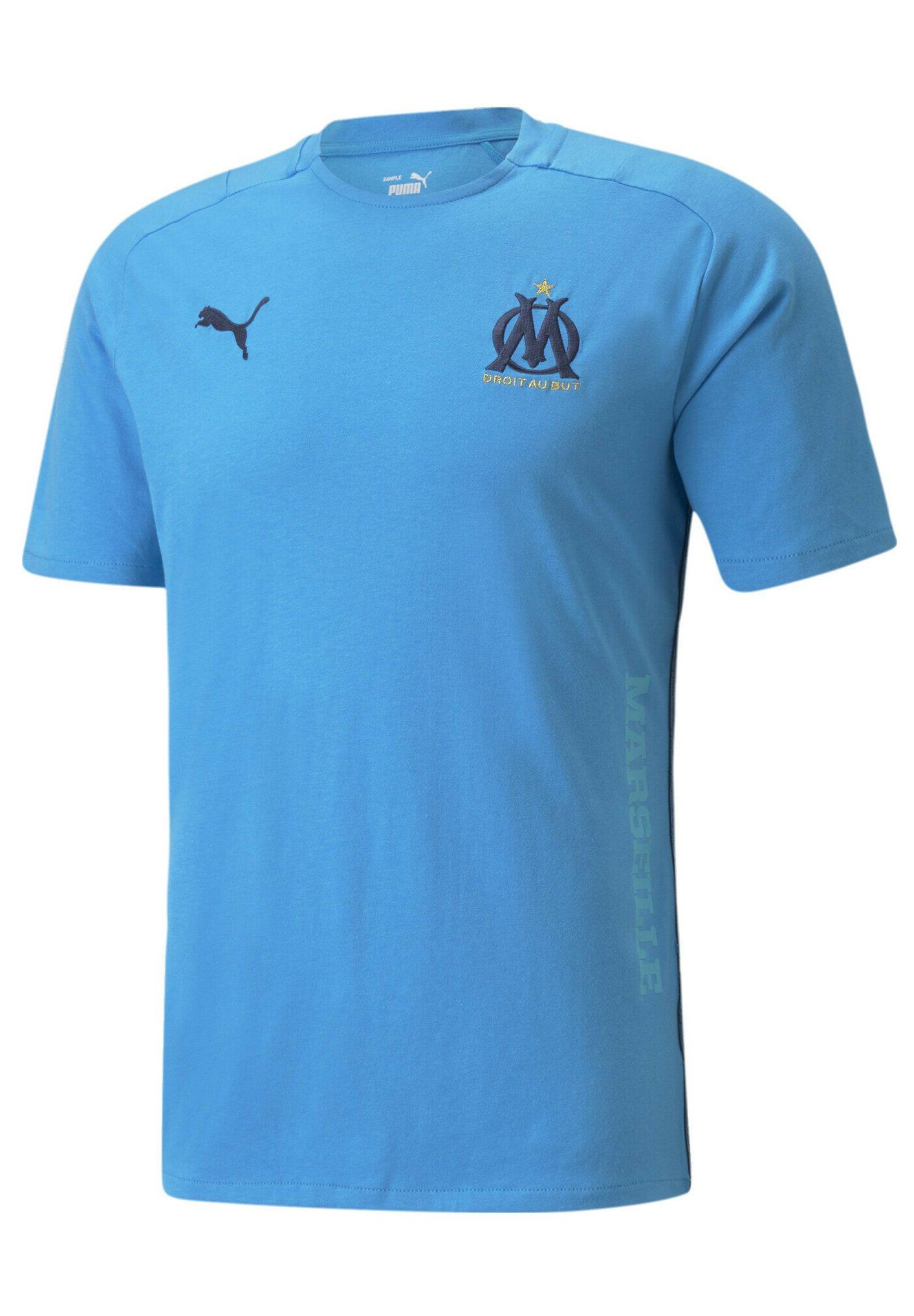 Homme OM CASUALS FOOTBALL MAND - T-shirt basique