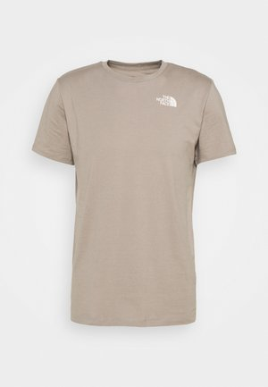 FOUNDATION GRAPHIC TEE - T-shirt con stampa - mineral grey