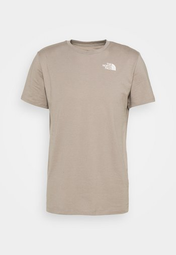 FOUNDATION GRAPHIC TEE - Print T-shirt - mineral grey