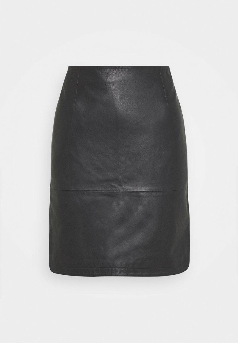 Part Two - URSANAS - Pencil skirt - black