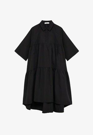 HOLLY-H - Shirt dress - black
