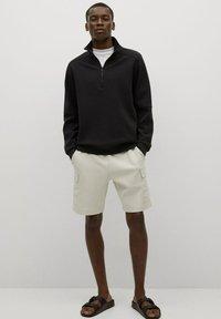 Mango - Sweatshirt - black - 1