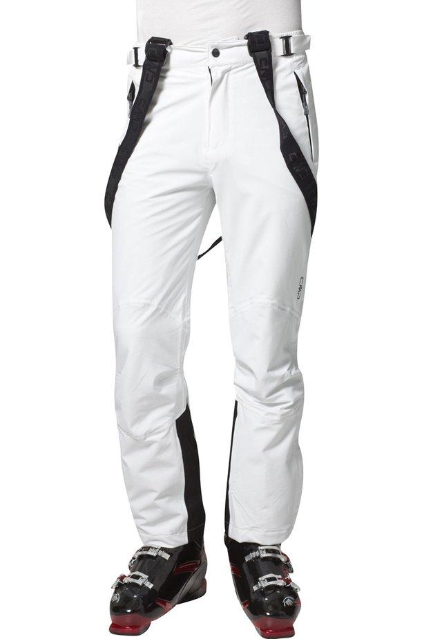 MAN PANT - Talvihousut - bianco