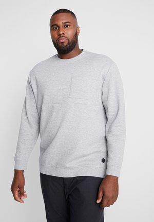 Sweatshirt - middle grey melange