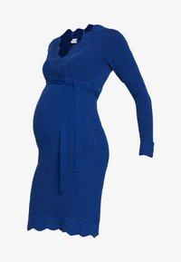 MAMALICIOUS - MLNEWEVA TESS DRESS - Vestido de tubo - mazarine blue - 4