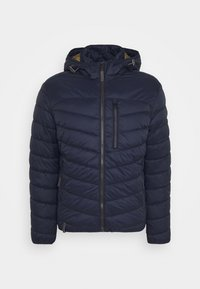 camel active - WITH HOODY - Lehká bunda - navy - 5