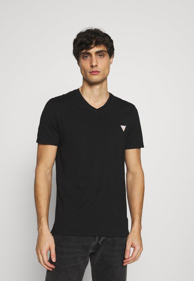 TEE - T-shirts - jet black
