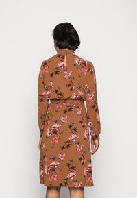 ONLY - ONLNOVA LUX SMOCK DRESS - Kjole - argan oil/fall devon - 2