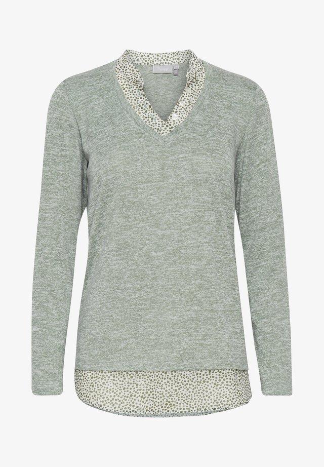 Sweter -  pad melange
