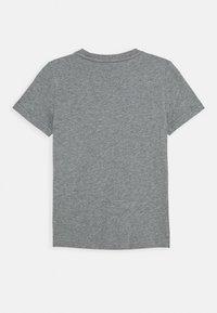 Puma - ACTIVE SPORTS GRAPHIC TEE - Print T-shirt - medium gray heather - 1