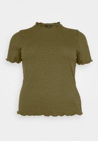 Vero Moda Curve - VMBREA - Print T-shirt - fir green - 4