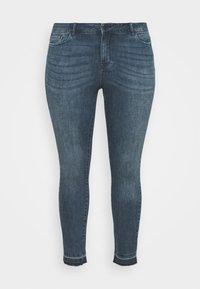 Vero Moda Curve - VMSEVEN  - Jeans Skinny Fit - dark blue denim - 3
