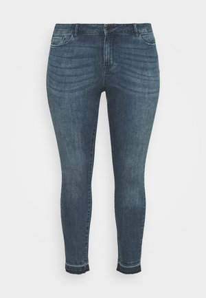 VMSEVEN  - Vaqueros pitillo - dark blue denim