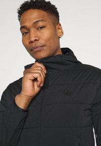 adidas Originals - HOODY - Light jacket - black - 4