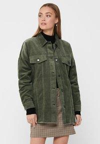 JDY - Button-down blouse - grape leaf - 0