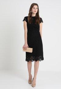 IVY & OAK - DRESS - Cocktail dress / Party dress - black - 1