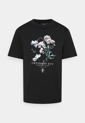 ORDINARY BOY UNISEX - T-shirt print - black