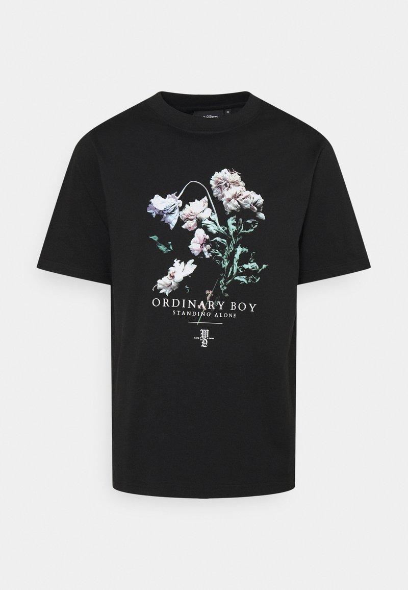 Wasted Paris - ORDINARY BOY UNISEX - T-shirt print - black