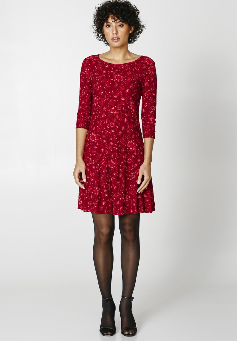 Indiska - BERRY  - Jersey dress - red