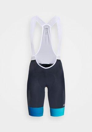 FORCE SHORTS WOMENS - Leggings - orbit blue/scuba blue