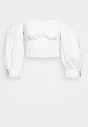 SHOULDER POUF - Blouse - white