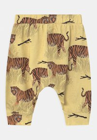 Walkiddy - BAGGY TIGERS UNISEX - Trousers - yellow - 1