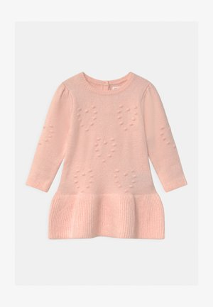 HEART - Jumper dress - milkshake pink