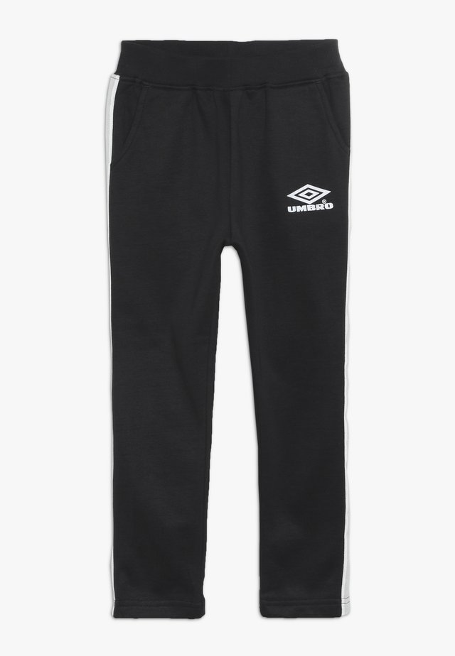 EROS JOGPANT - Tracksuit bottoms - stretch limo/bright white/dew