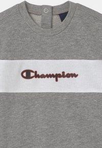 Champion - BASKET GAME CREWNECK SET UNISEX - Treningsdress - black - 3