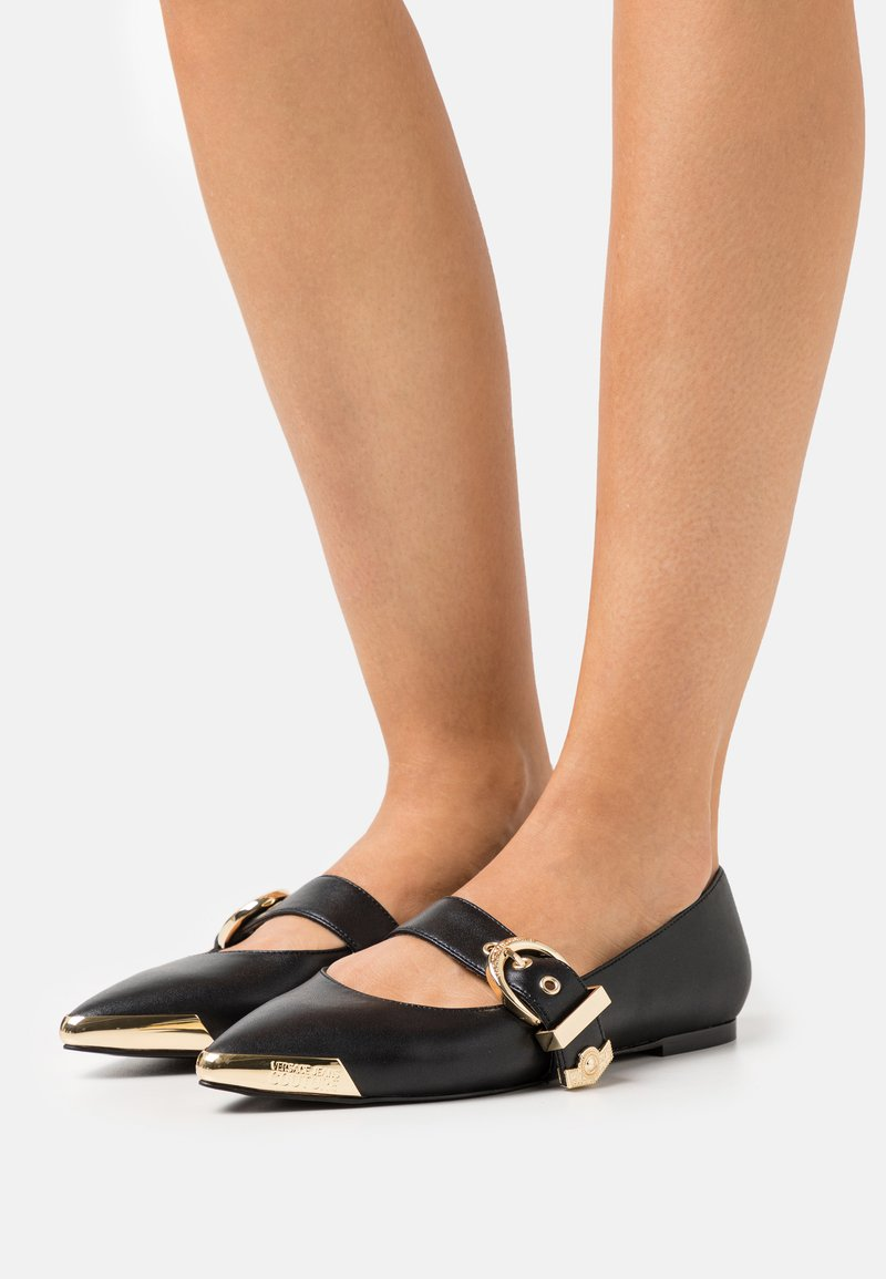 Versace Jeans Couture - Baleríny - black