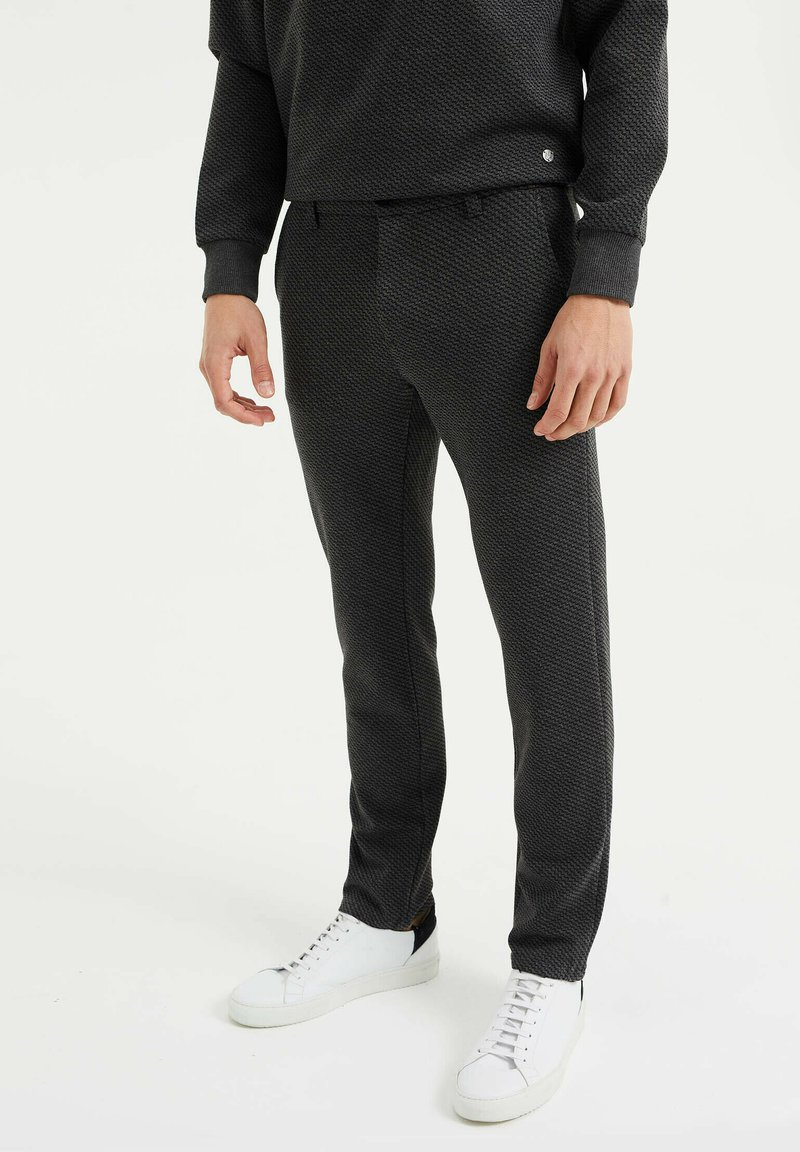 WE Fashion - Chinos - dark grey