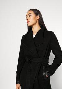 Vero Moda - VMCALASISSEL JACKET - Krótki płaszcz - black - 3