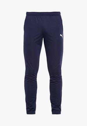 LIGA TRAINING PANTS - Tracksuit bottoms - peacoat/white
