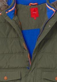 s.Oliver - Winter jacket - khaki/oliv - 5