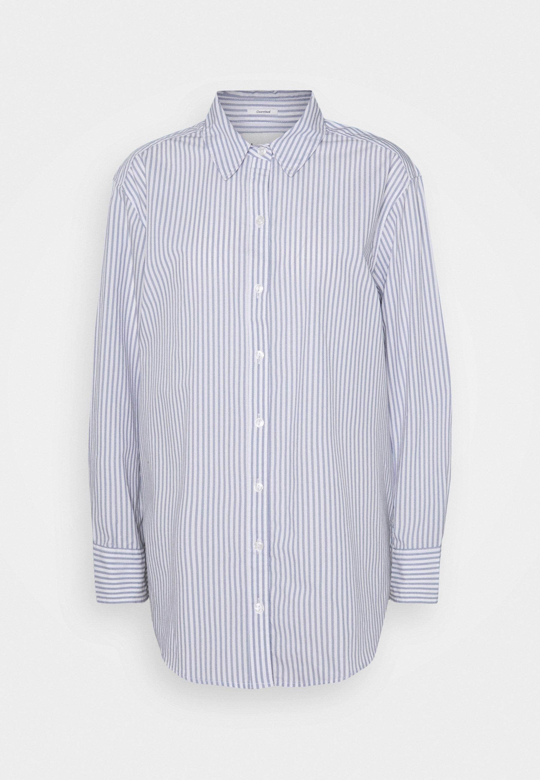 Women OVERSIZED COOL GIRL SHIRT - Button-down blouse