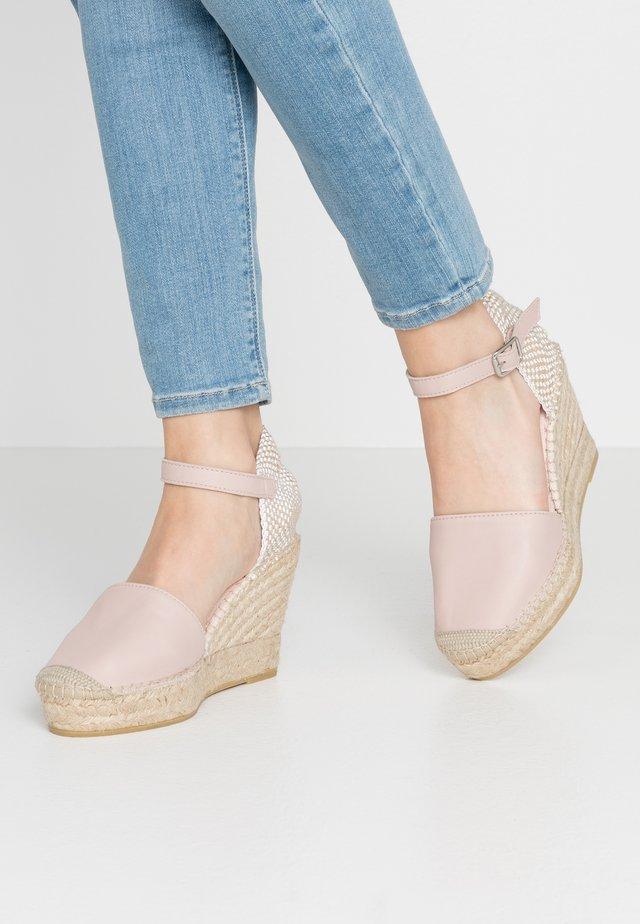 NATI - High heeled sandals - nude