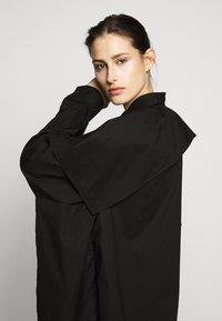 MM6 Maison Margiela - Košilové šaty - black - 4
