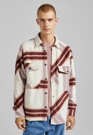 OVERSHIRT - Shirt - beige