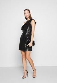 MICHAEL Michael Kors - SEQUIN DRESS - Robe de soirée - black - 1