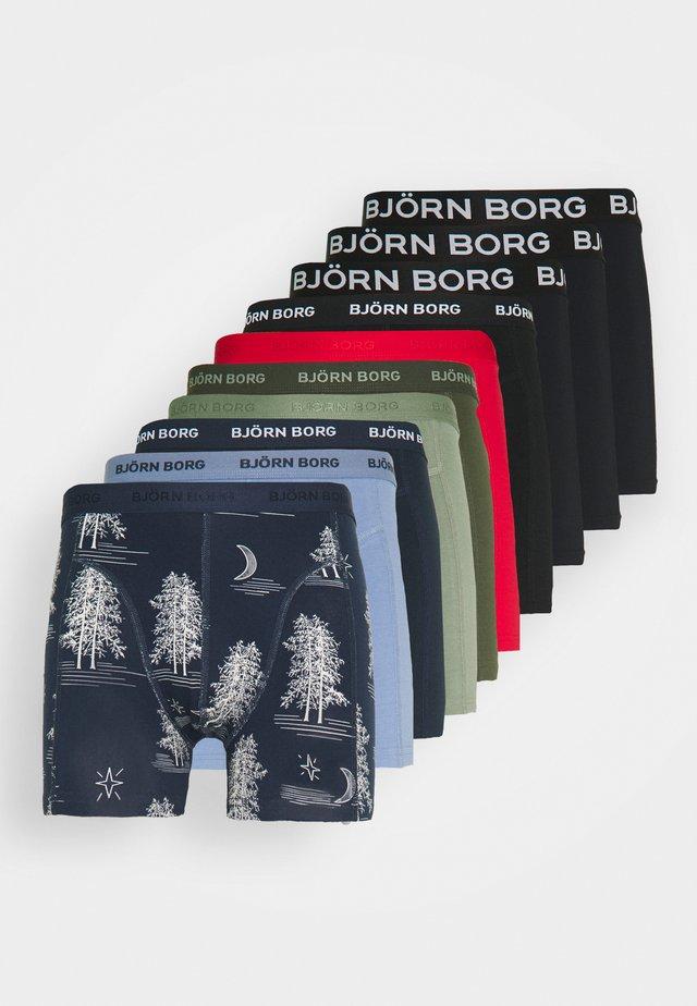 WINTER PRINT SAMMY SHORTS 10 PACK - Underkläder - mood indigo