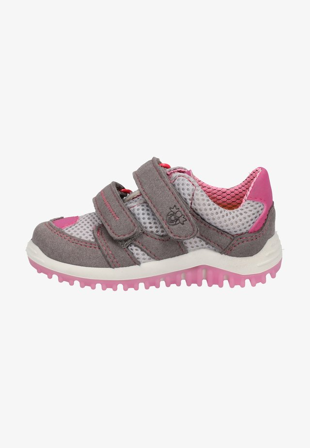 Trainers - graphite/grey/pink