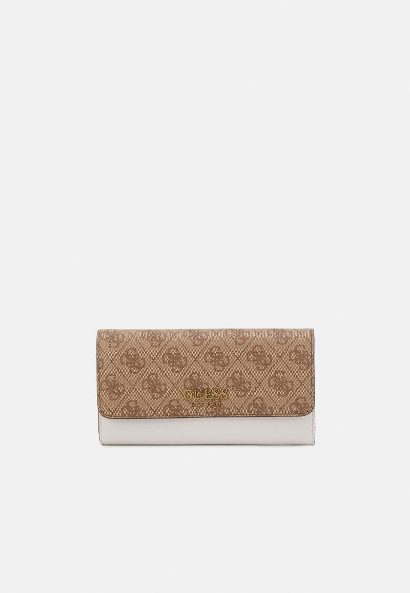 Guess - MIKA POCKET TRIFOLD - Portefeuille - brown