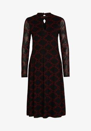 Day dress - black commalove